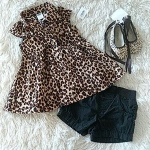 NWT OLD NAVY Top w/matching shorts